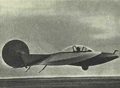 Sukhanov Diskoplan-2 (1962) - experimental glider with a disc wing