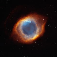 "hubble telescope pictures. The helix nebula is also called the ""eye of God"". I can see why?"