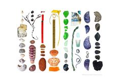 The Bluffs, Bar Harbor, Maine; April 28, 2014 (Beachcombing series No.75a) by Jennifer Steen Booher
