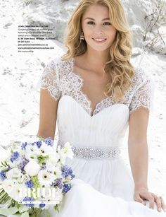 Wild Jewels Princess Earrings! As seen in the Summer Romance Issue 87 on the FRONT COVER of Bride & Groom Magazine!