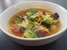 Cilantro, Thai Red Curry, Ramen, Ethnic Recipes, Food, Ground Turkey, Tortilla Soup, Food Cakes, Bon Appetit