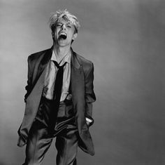 Greg Gorman - David Bowie, New York, 1982, 40x51cm, Archival Pigment Print,