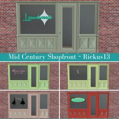 Sims2 - MidCentury Shopfront - Downloads - BPS Community