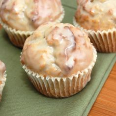 Glazed Doughnut Muffins, would be great for a sweet on the brunch table.