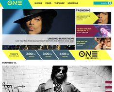 tv one channel website Sheila E, Show Video, First Tv, Web Design Trends, Home Entertainment, Channel, Cartoon, Website, Inspiration