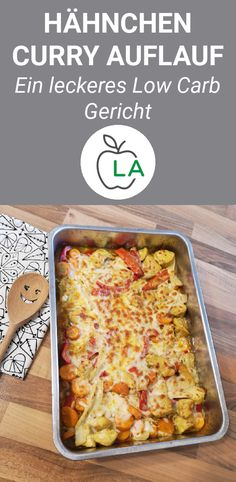 Chicken Curry Casserole (Low Carb) A delicious low carb chicken curry casserol. - Chicken Curry Casserole (Low Carb) A delicious low carb chicken curry casserole that is also perf - No Calorie Foods, Low Calorie Recipes, Healthy Recipes, Protein Recipes, Low Fat Diets, Low Carb Diet, Paleo Diet, Vegetarian Keto, Keto Meal