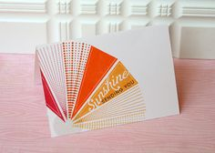 Sending You Sunshine Card by Danielle Flanders for Papertrey Ink (June 2012)