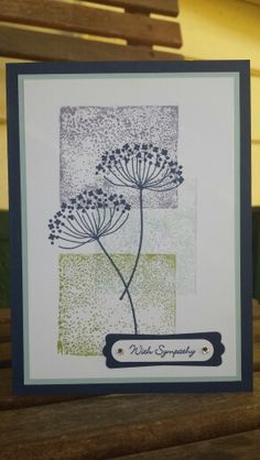 """Stampin up technique tuesday """"blocking"""" using our acrylic blocks. Summer silhoettes and teeny tiny sentiments ~ stamp with Rachel ~"""