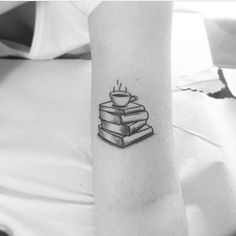 Coffee & Books Tattoo.