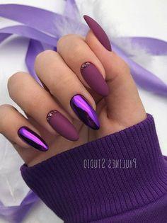 How to choose your fake nails? - My Nails Cute Acrylic Nails, Cute Nails, Metallic Nails, Hair And Nails, My Nails, Vegas Nails, American Nails, Pink Ombre Nails, Dipped Nails
