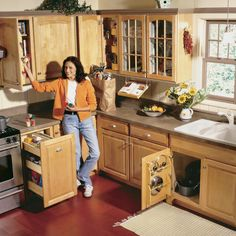 Build these 5 kitchen storage projects and increase the storage capacity of your cabinets without increasing the size of your kitchen or replacing cabinets.