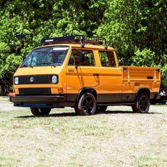 Transport back in time with this Vw Doka, Back In Time, Volkswagen, Transportation, Monster Trucks, Van, Vehicles, Instagram Posts, Wheels
