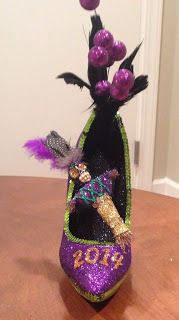 Confessions of a glitter addict: Voodoo Doll Shoe for Muses 2014