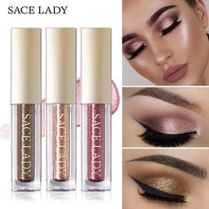 Givenone Womens Cosmetics 12 Color Diamond Pearl Liquid Eyeshadow Shine Bright Eyeshadow Girl Hot Sale Cheapest Price From Our Site Eye Shadow