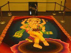 [ Ganesh Kolam Wedding Dreams Indian Wedding Expo ] - Best Free Home Design Idea & Inspiration Dream Wedding, Wedding Dreams, Wedding Gallery, Wedding Ceremony, Wedding Inspiration, Ganesh, Deco, Insight, Indian