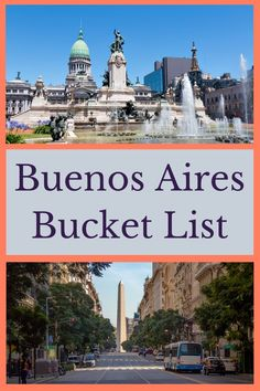 What to see, do, and eat in Buenos Aires, Argentina. Travel tips and what to skip included! Buenos Aires things to do / What to do in Buenos Aires / Buenos Aires Bucket List South America Map, Central America, Latin America, Amazing Destinations, Travel Destinations, Travel Tips, Travel Hacks, Travel Essentials, Travel Guides