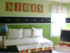 Maybe Coop's room when he's just a little older.