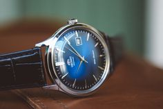 Shades of blue with the Bambino, Version 4. Check it out: https://orientwatchusa.com/shop/mens-watches/fac08004d0/