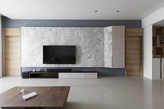 I say the gray is not gray in Taiwan by HOZO interior design - MyHouseIdea