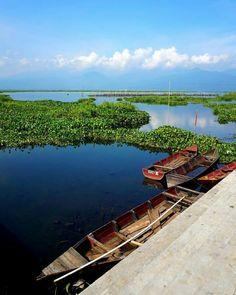 Rawa Pening Lake, Central Java INDONESIA  #lake #indonesia