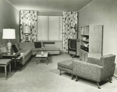 Ideas For House Vintage Interior Living Rooms