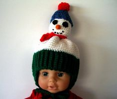 Items similar to ON SALE Snowman Baby Hat Infant Christmas Crochet Hat with Earflaps PomPom Ties on Etsy Crochet Christmas Hats, Christmas Baby, Crochet Hats, Moonlight Painting, Iris Flowers, Red Scarves, Baby Hats, Snowman, Infant