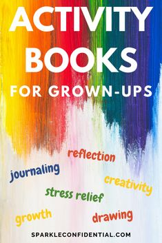 Unleash your creativity with the very best activity books for adults. Journal, draw, reflect, grow and relieve stress and anxiety. How To Become Happy, Are You Happy, Activity Books, Book Activities, Chakra Meanings, Group Therapy Activities, Chakra Affirmations, Math Workbook, Yoga Books