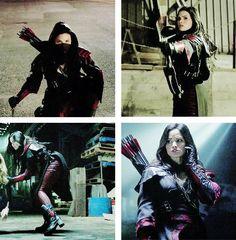 #Arrow - nyssa al ghul <3