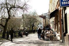 The street Kyrkogatan in Gothenburg, Sweden.   Elsa Billgren