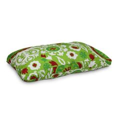 Snoozer Holiday Rectangle Dog Bed - Suzani Durable polyester and cotton construction. Removable zippered inner liner. Washable outer cover. Polyester and cedar filling. Assorted sizes.  #Snoozer #PetProducts