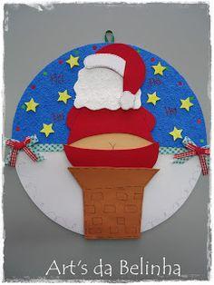 O tempo está voando e o Natal está quase chegando, por isso o Papai Noel já está dando o ar da graça por aqui ... rsrsrsrs!!!      fonte: Kr...