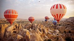 Hot Air Balloon in Istanbul