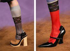 kill the socks, keep the shoes. *prada spring 2015