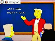 """@Regrann from @katrina_fimmel_2 -  enemies of humanity...know thy enemy (dressed in steam punk) #Reposting @naziejoon -- ALT RIGHT = NEO NAZI  quit these euphemistic descriptors. i know the word """"nazi"""" feels uncomfortable to include as a part of mainstream american politics (remember how our nationalist mythologies include bragging about how we avoided and even """"defeated"""" all of that in the 1940s?) but say it. """"alt-right"""" emerged as a synonymous descriptor so their enthusiastic fourth…"""