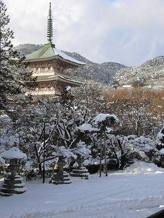 Zenko-ji, Nagano, Japan