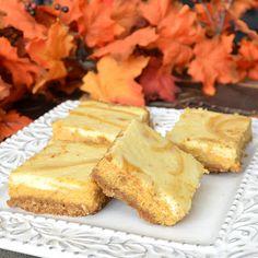 Kitchen Catharsis: Pumpkin Cheesecake Squares