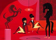 Josh Agle, more commonly known as Shag, illustrator & painter