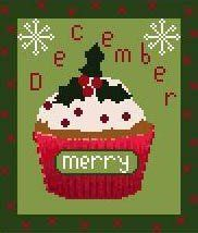 December Cupcake from OMG! Designs.