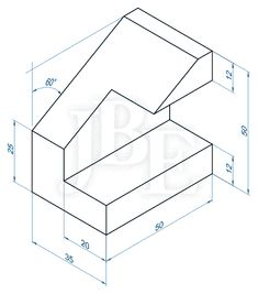 AutoCAD for everyone - practical: Suggested exercises Solid AutoCAD 3 . 3d Drawing Techniques, Drawing Skills, Drawing Tips, Autocad Isometric Drawing, Isometric Drawing Exercises, White Gel Pen, White Acrylic Paint, Orthographic Drawing, Pitt Artist Pens