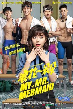 My mr mermaid (Chinese drama) Korean Drama Romance, Korean Drama List, O Drama, Korean Drama Movies, Drama Korea, Asian Actors, Korean Actors, Princess Hours Thailand, China Movie