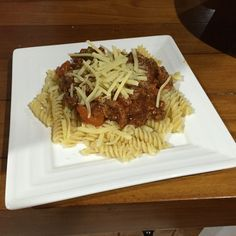 Spaghetti and Mince