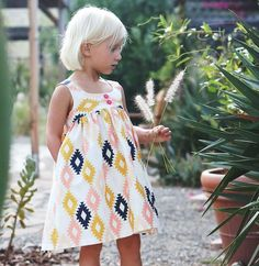 Desert Rose Dress & Tunic pattern by Caila Made ($10)