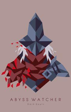 Abyss Watcher Art Print by Nahamut - X-Small Arte Dark Souls, Soul Tattoo, Joker Art, Minimalist Wallpaper, Soul Art, Fantasy Artwork, Galaxy Wallpaper, Dark Fantasy, Dungeons And Dragons
