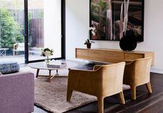 A warm, casual elegance for Melbourne home | Designhunter - Australia's best architecture & design blog