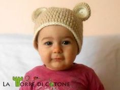 How to make crochet hat with teddy bear ears – Instructions in English … - Modern Crochet Bear Hat, Knitted Hats, Crochet For Kids, Diy Crochet, Ravelry Crochet, Bear Ears, Beanie Pattern, Beautiful Crochet, Crochet Clothes
