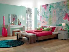 bright wallpaper for walls - Google Search