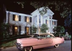 Elvis first purchased a 1955 Cadillac Fleetwood Series 60 in March of 1955. Originally in blue with a black roof, Elvis had the car repainted pink. The car caught fire while driving on a tour in Texarkana, Texas in July of 1955.