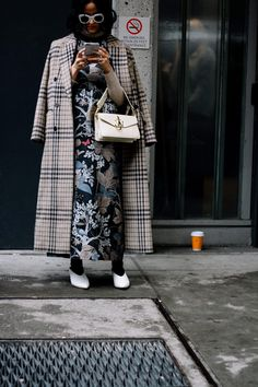 El estilo de las working women domina las calles.