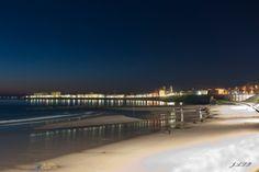 Cadiz de noche San Fernando Cadiz, Snow, Beach, Water, Outdoor, Cities, Bonito, Night, Gripe Water
