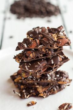 Because really, we can't live on cookies alone. We need a little health food. And this bark? Yes, it is practically health food. There has been a lot of sugar,…